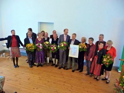 Verleihung des Kulturpreises der Bezirkstagsfraktion in Freising 2013
