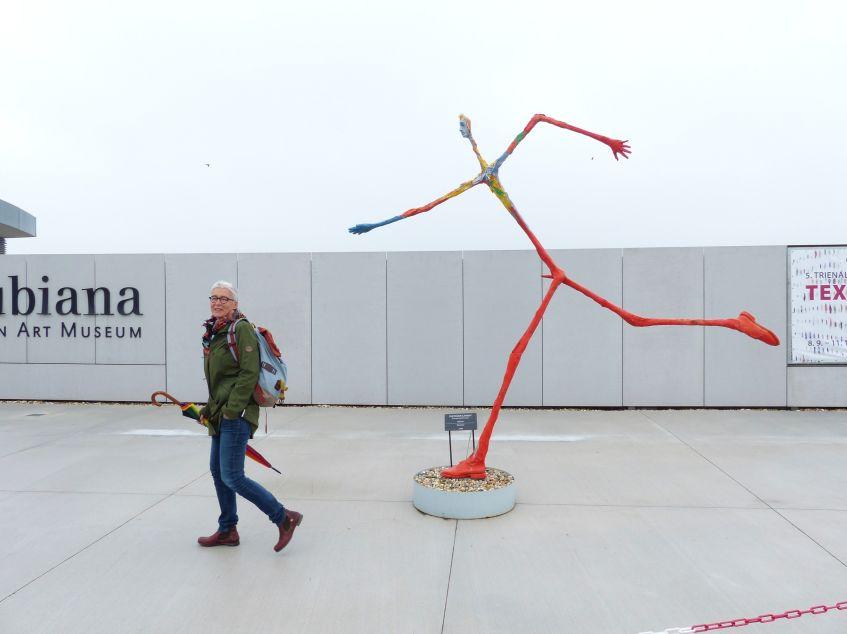 Martina Neubauer im Museum