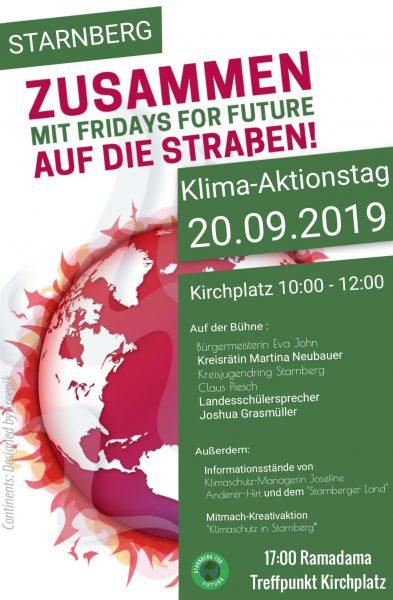 Klima Aktionstag Starnberg