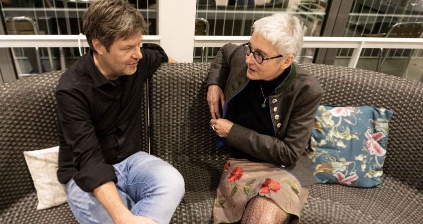 Martina Neubauer und Robert Habeck