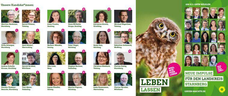 Kommunalwahl 2020 Gründe Kreistagskandidat*innen Starnberg