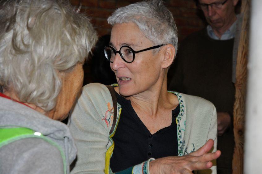 Martina Neubauer auf dem Neujahrsempfang 2020 in Weßling mit Grünen Bürgermeisterkandidat*innen