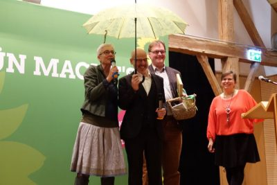 Neujahrsempfang Martina Neubauer mit Prof. Dr. Michael Schrödl