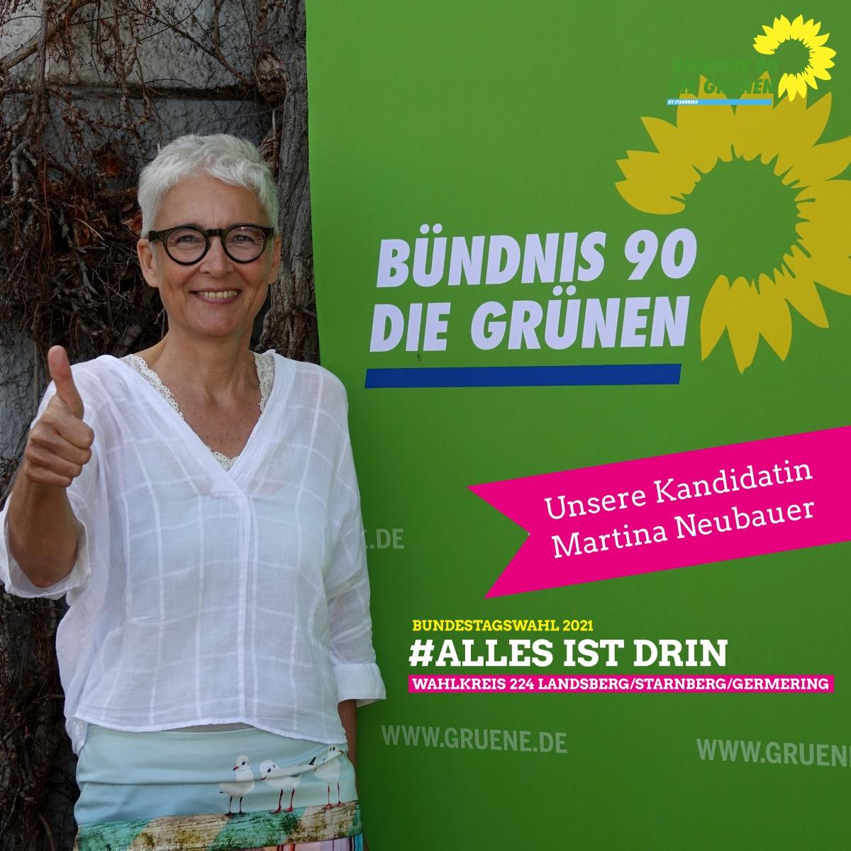Direktkandidatin für die Bundestagswahl