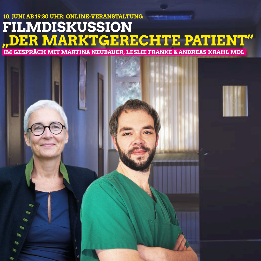 """Filmdiskussion""""Der marktgerechte Patient"""""""
