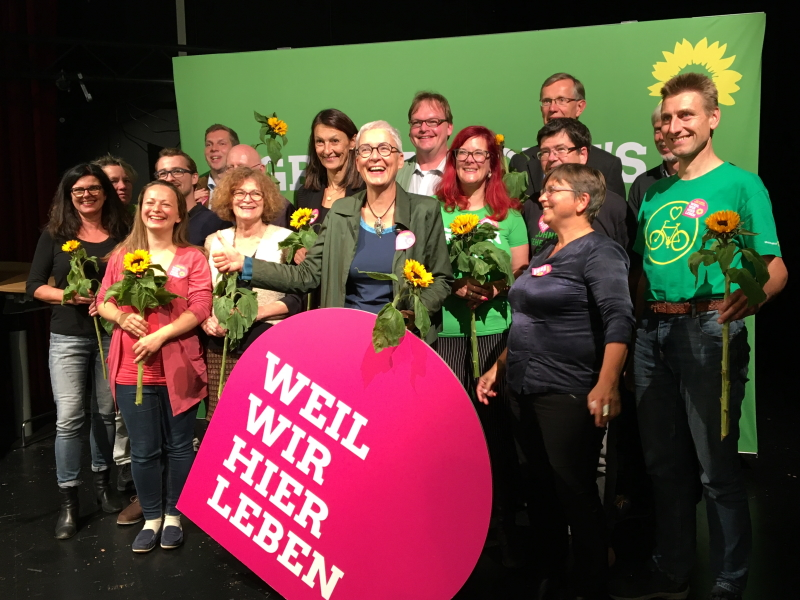 Kreistagsliste mit Martina Neubauer