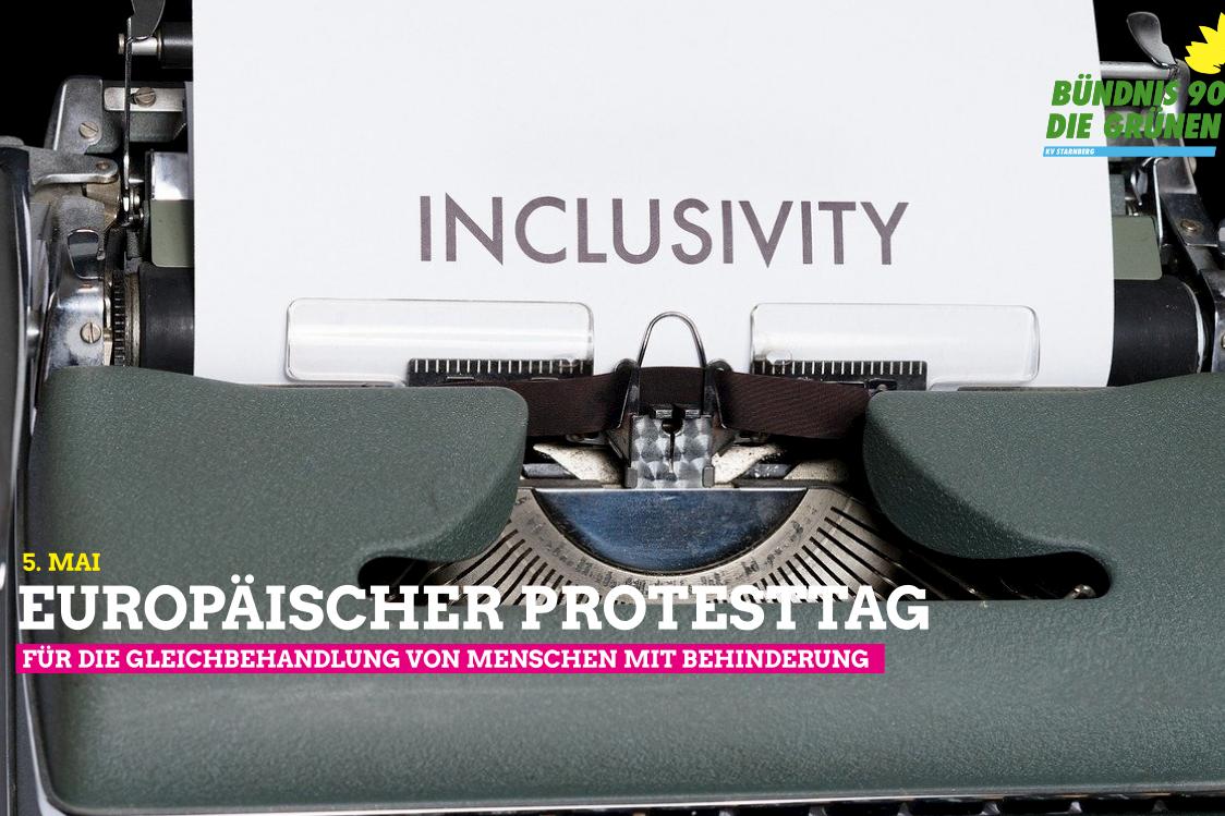 Europäischer Protesttag zur Gleichstellung der Menschen mit Behinderung am 5. Mai