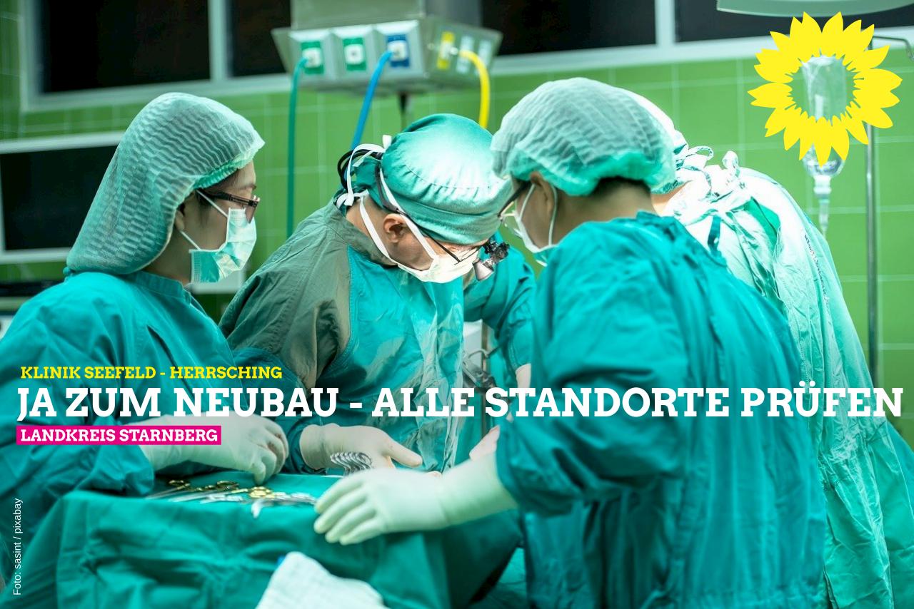 GRÜNE bekennen sich zu Krankenhaus im westlichen Landkreis