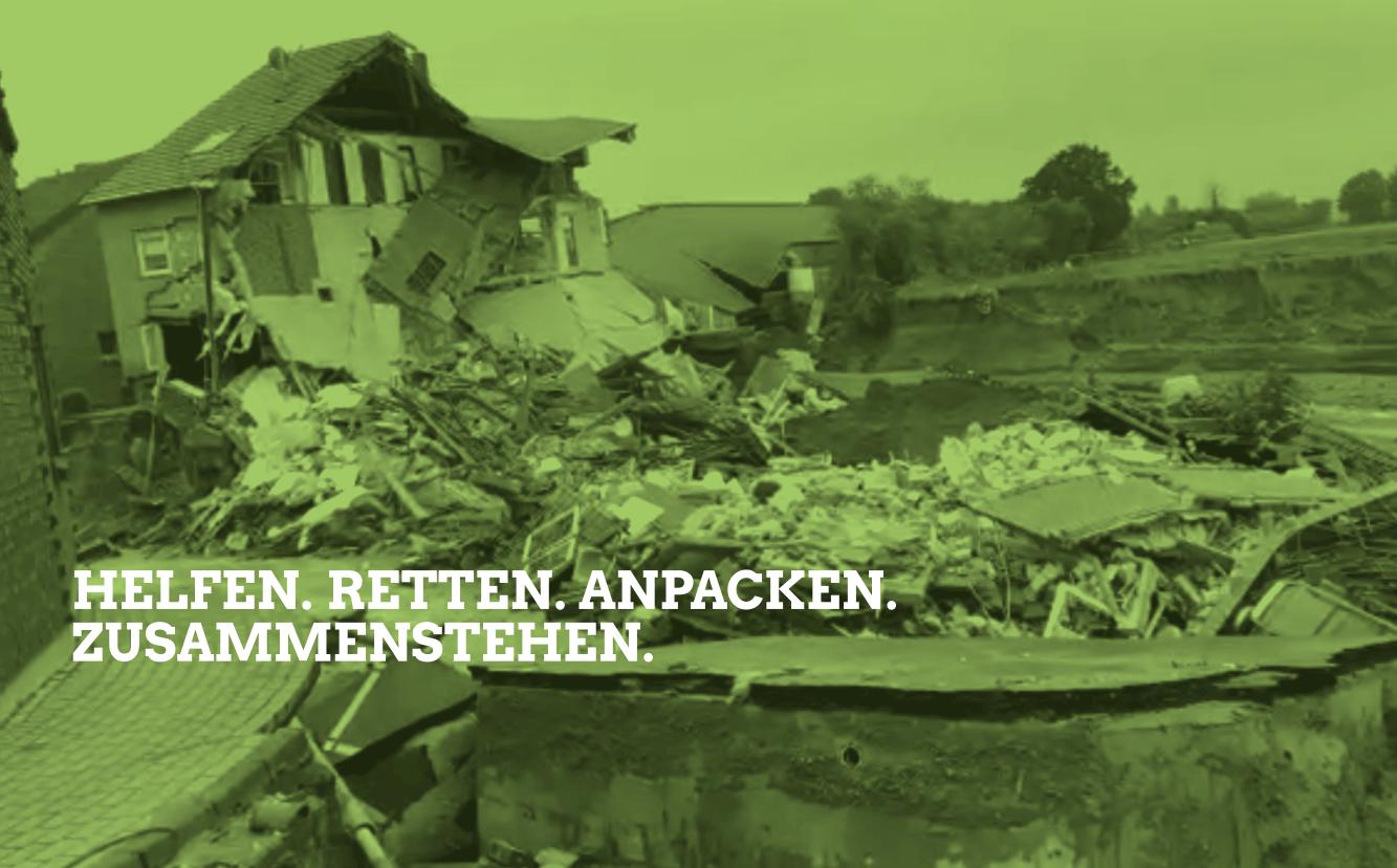 Überflutungen im Westen Deutschlands