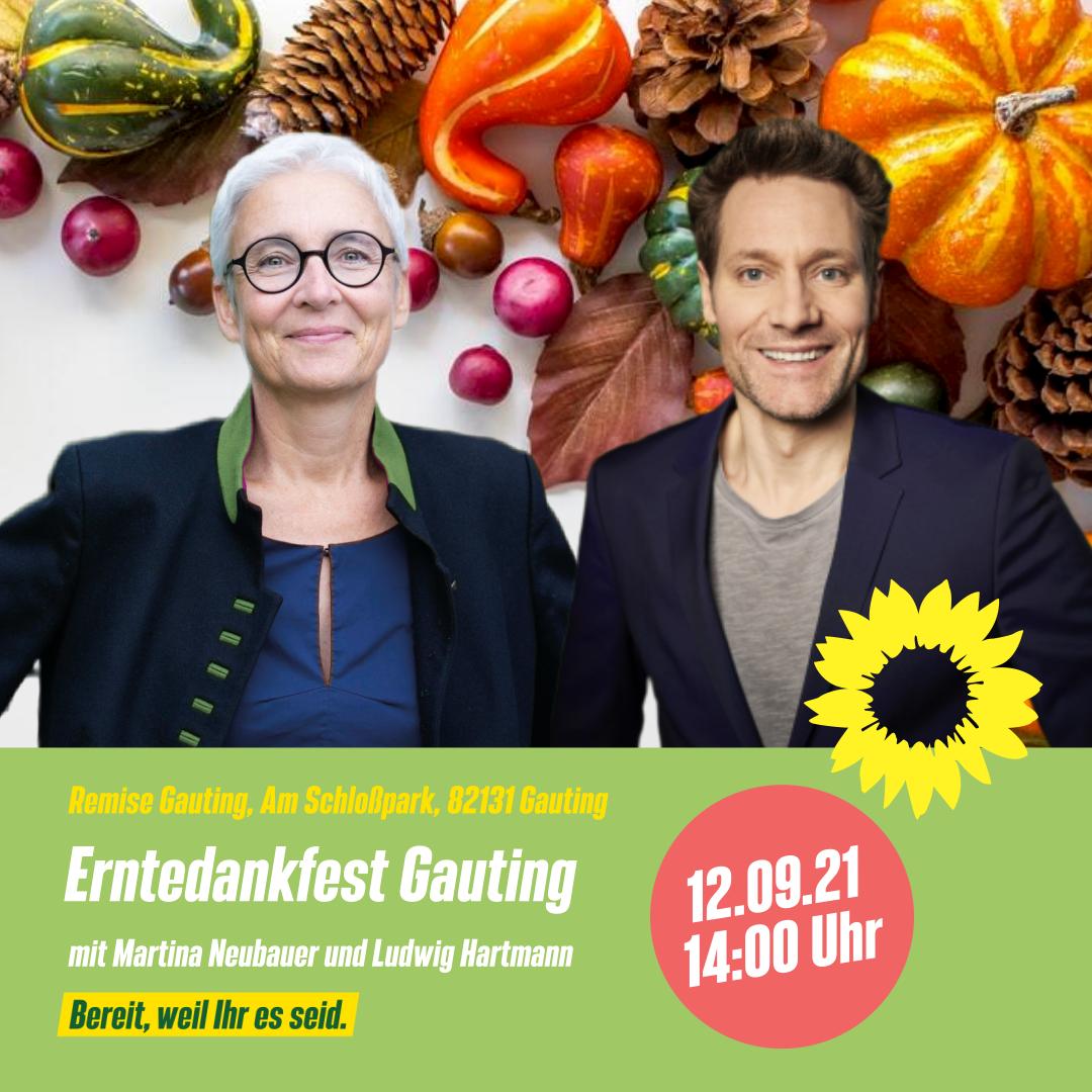 Erntedankfest mit Ludwig Hartmann