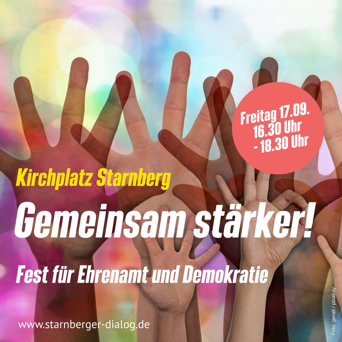 Fest des Ehrenamts und der Demokratie